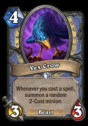 Vex Crow Card
