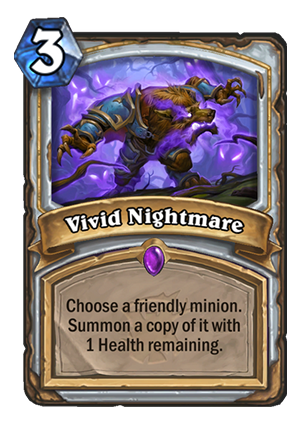 Vivid Nightmare Card