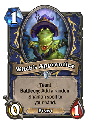 Witch's Apprentice Card