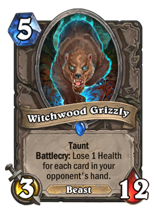 Witchwood Grizzly Card