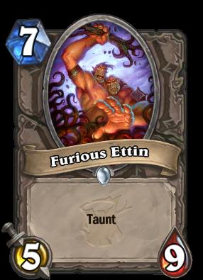 Furious Ettin Card