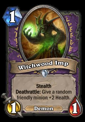 Witchwood Imp Card