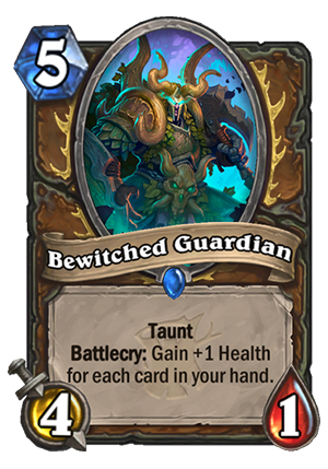 Bewitched Guardian Card