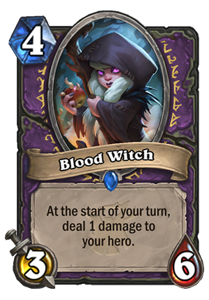 Blood Witch Card