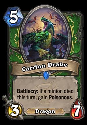 Carrion Drake Card