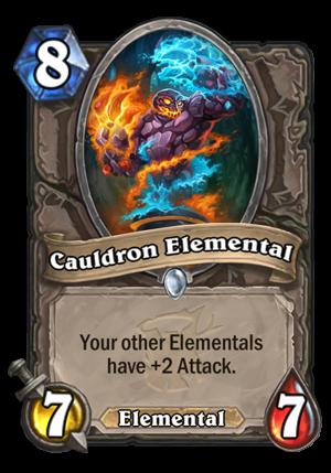 Cauldron Elemental Card