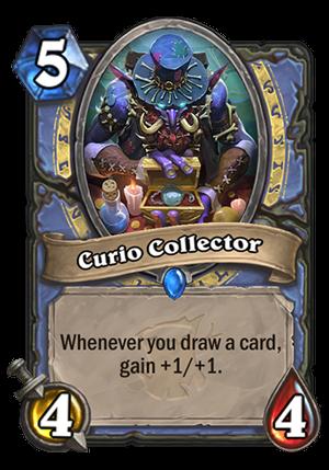 Curio Collector Card