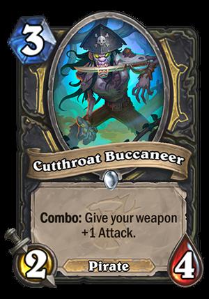 Cutthroat Buccaneer Card