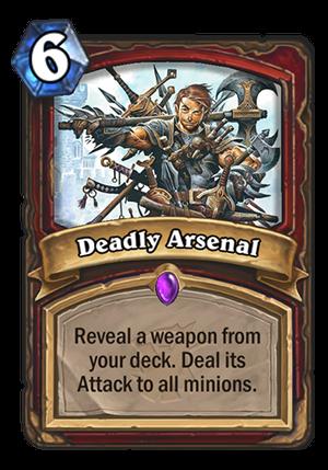 Deadly Arsenal Card