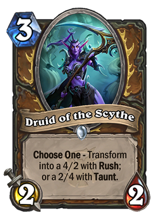 Druid of the Scythe Card
