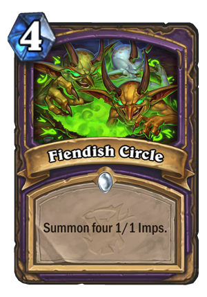 Fiendish Circle Card