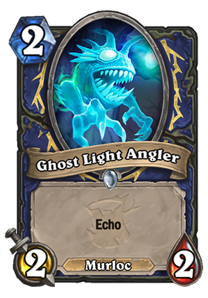 Ghost Light Angler Card