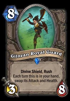 Gilnean Royal Guard Card