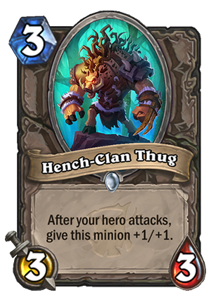 Hench-Clan Thug Card