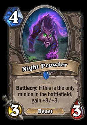 Night Prowler Card