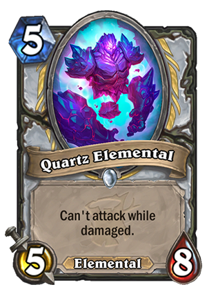 Quartz Elemental Card