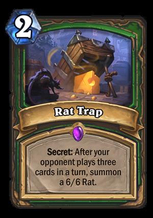 Rat Trap Card