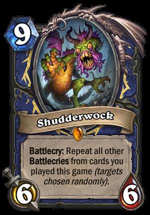 Shudderwock Card