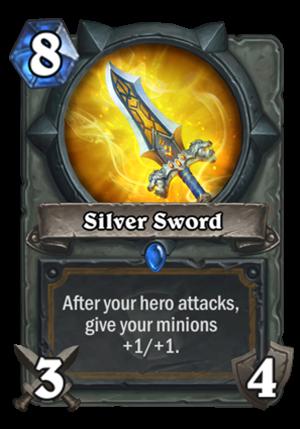 Silver Sword Card