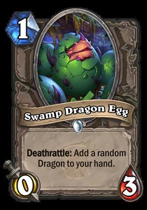 Swamp Dragon Egg Card
