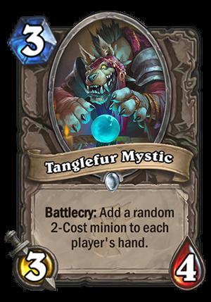 Tanglefur Mystic Card