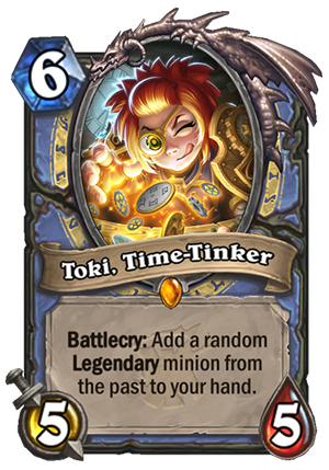Toki, Time-Tinker Card