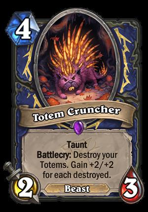 Totem Cruncher Card
