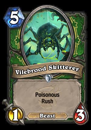 Vilebrood Skitterer Card