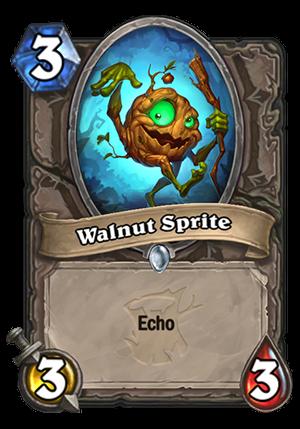 Walnut Sprite Card