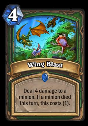 Wing Blast Card