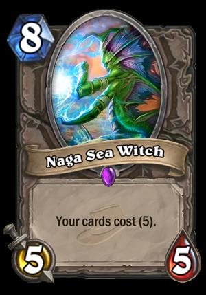 Naga Sea Witch Card