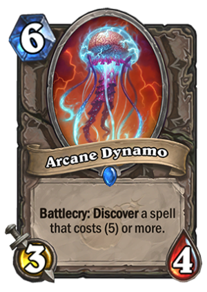 Arcane Dynamo Card
