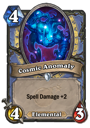 Cosmic Anomaly Card
