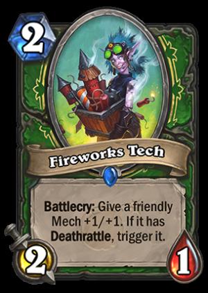 Fireworks Tech Card