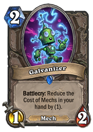 Galvanizer Card