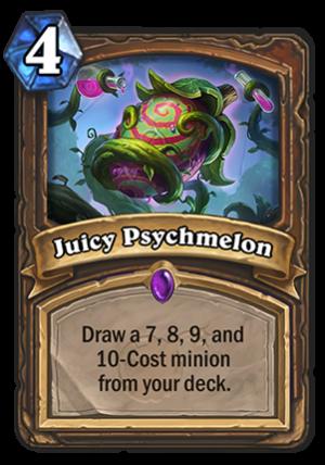 Juicy Psychmelon Card