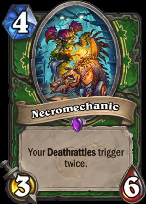 Necromechanic Card