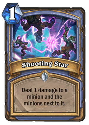 Shooting Star Card
