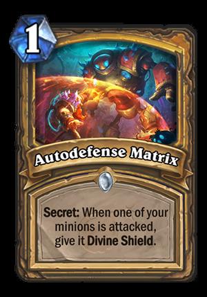 Autodefense Matrix Card