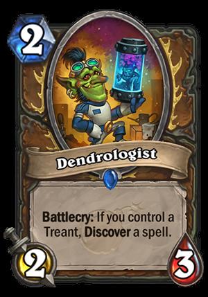 Dendrologist Card