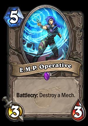 E.M.P. Operative Card