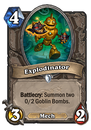 Explodinator Card