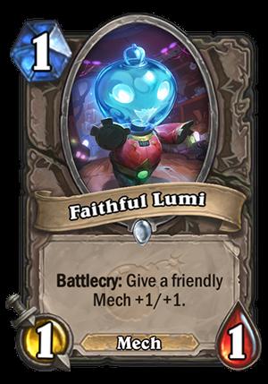 Faithful Lumi Card