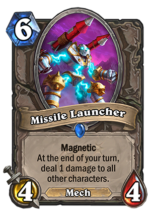 Missile Launcher Card