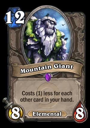 Mountain Giant Card
