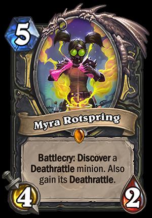 Myra Rotspring Card