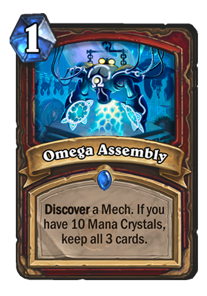 Omega Assembly Card