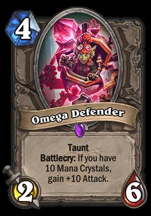 Omega Defender Card