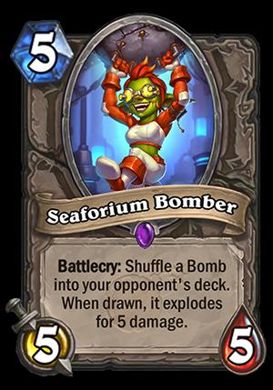 Seaforium Bomber Card
