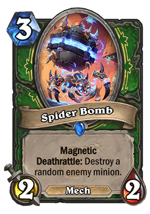 Spider Bomb Card